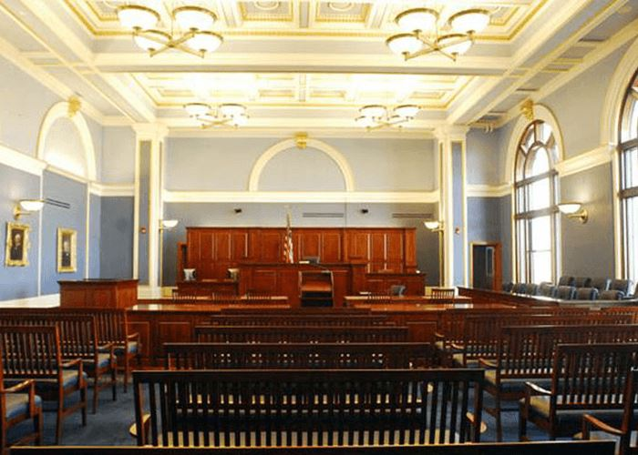 courthouse oneida county courtroom supreme