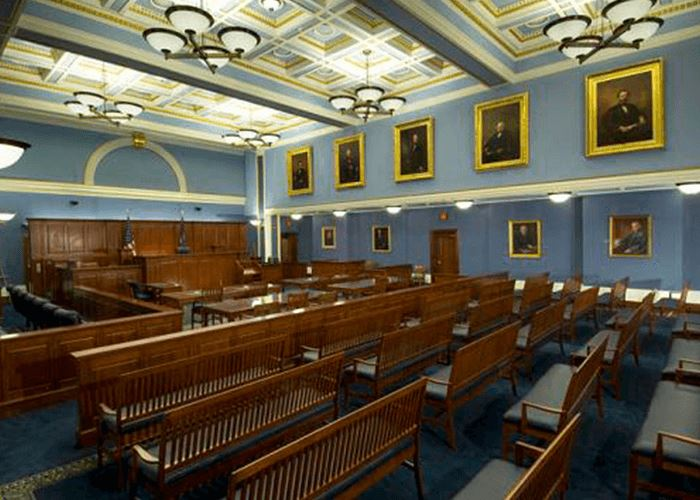 Oneida County Courthouse Supreme Courtroom