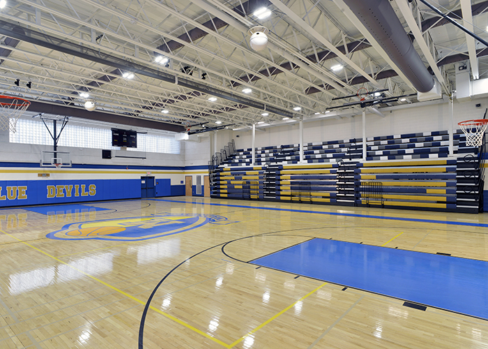 Madison Gym Bleachers Closed